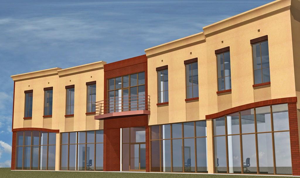 Budynek biurowo-handlowo-usługowy