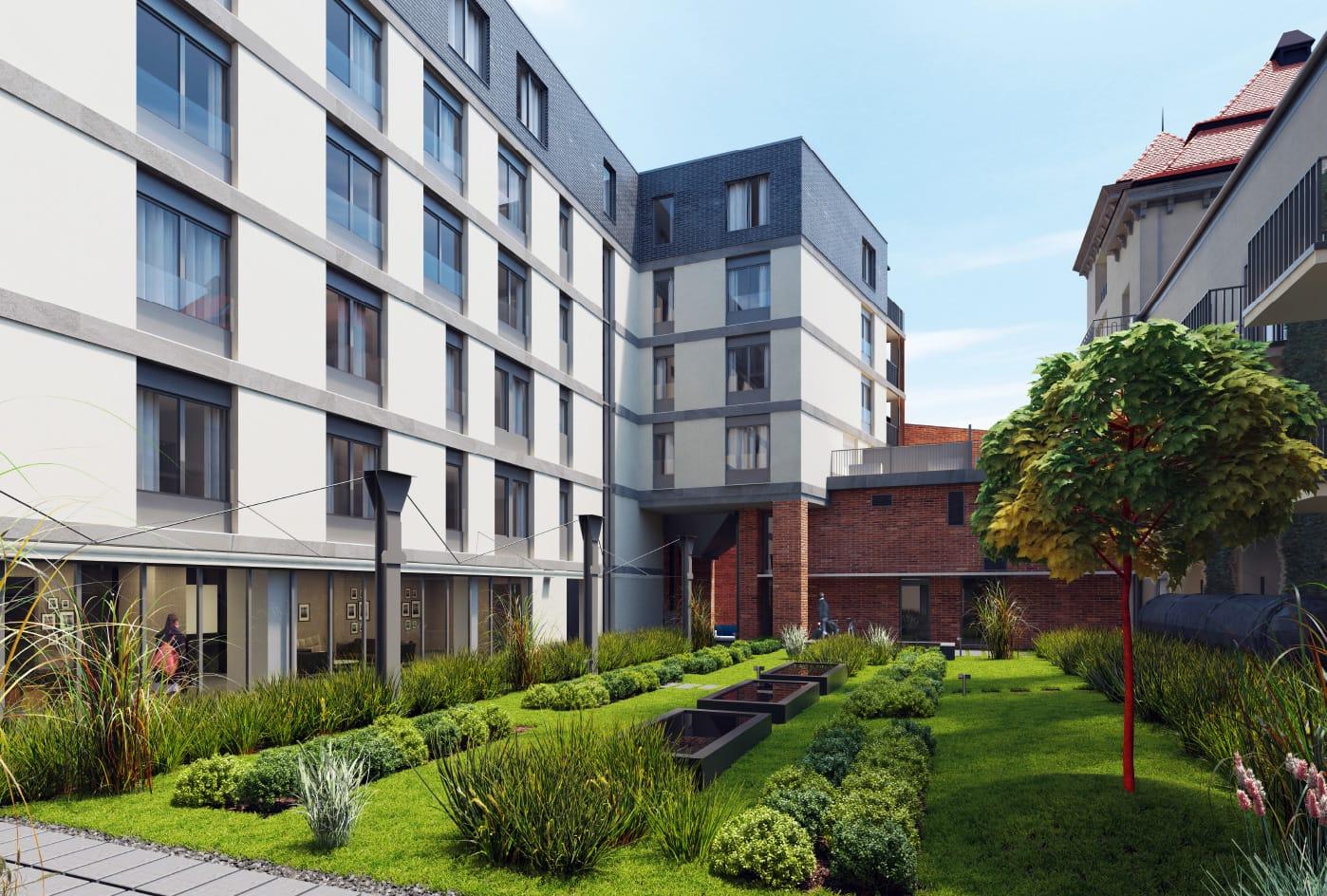 Apartamenty Wawrzyńca 19 w Krakowie - dostawa i montaż układów Split, Multi Split oraz systemów VRV firmy DAIKIN.