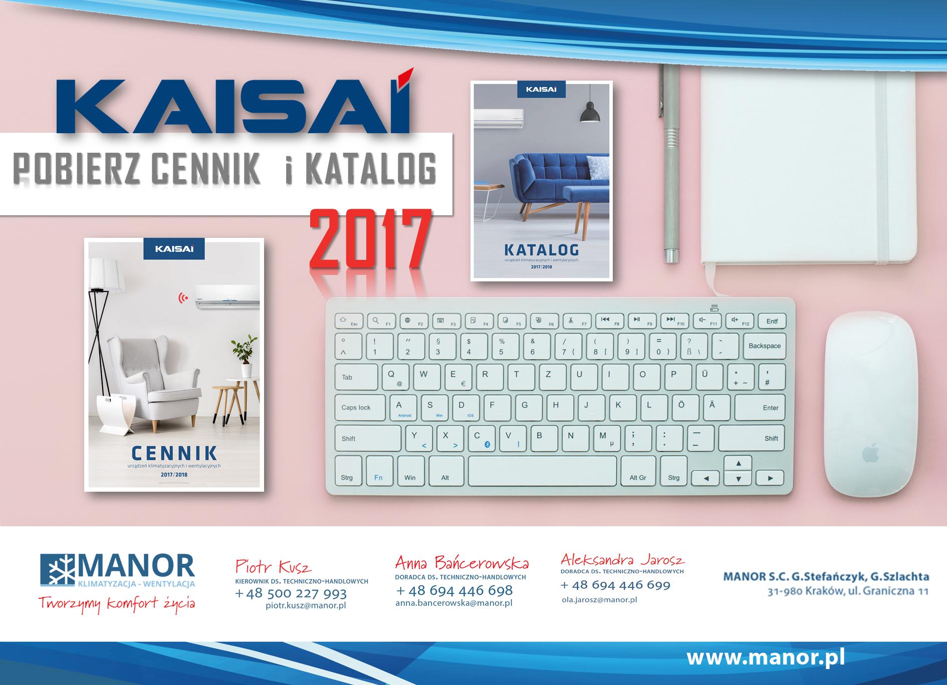 KAISAI – NOWY CENNIK I KATALOG 2017!